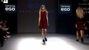 Pepa Salazar. Samsung EGO, Mercedes-Benz Fashion Week Madrid, febrero 2015